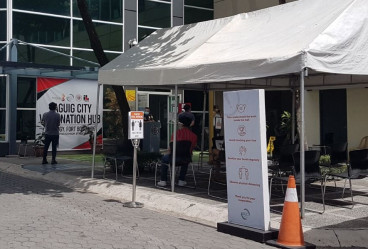 Our first vaccine hunt in Taguig