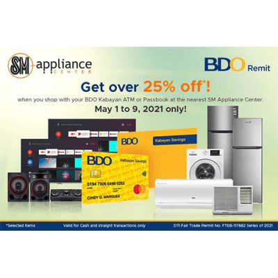 25% Off at SM Appliance