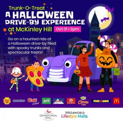 Halloween drive-by experience