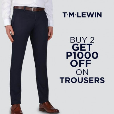 P1000 off when you buy 2 trous...