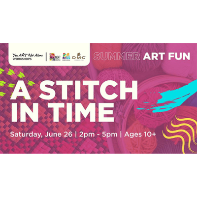 A Stitch In Time with Mel Mayo...